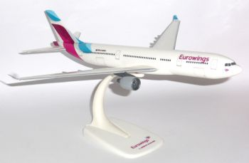 Airbus A330-200 Eurowings Germany Collectors Desktop Model Scale 1:200 E